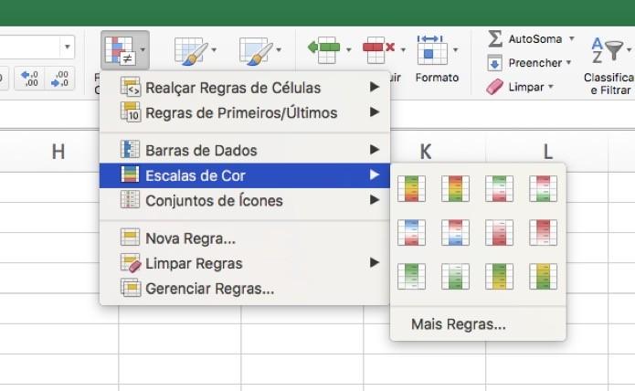 Como Aplicar Escalas De Cor No Excel Dicas E Tutoriais