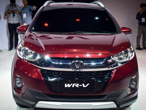 """Honda WR-V é apresentado no Salão do Automóvel de São Paulo 2016. O modelo inédito quer """"brigar"""" com SUVs (Foto: Flavio Moraes/G1)"""