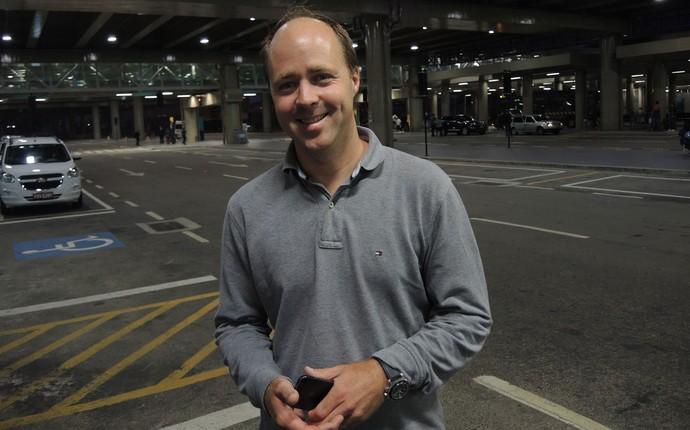 agente Emmanuel de Kerchove  (Foto: Marcelo Braga)