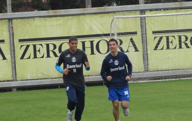 Bertoglio Leandro Grêmio (Foto: Tomás Hammes / GLOBOESPORTE.COM)