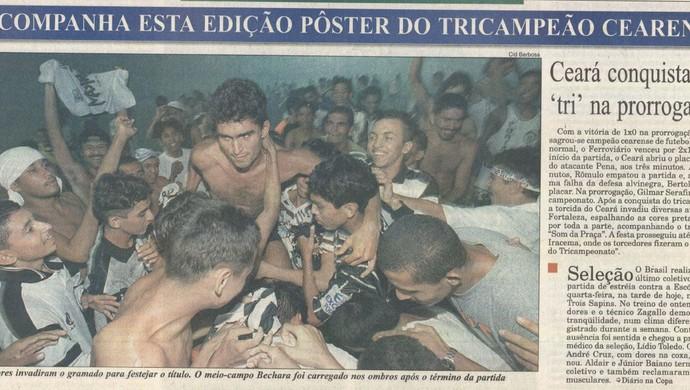 Ceará, Ferroviário, jornal (Foto: Reprodução/Diário do Nordeste)