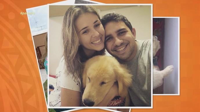 Flávia Rezende e Rafael Campos participam do 'Essa é Pai D'Égua' (Foto: Rede Amazônica)