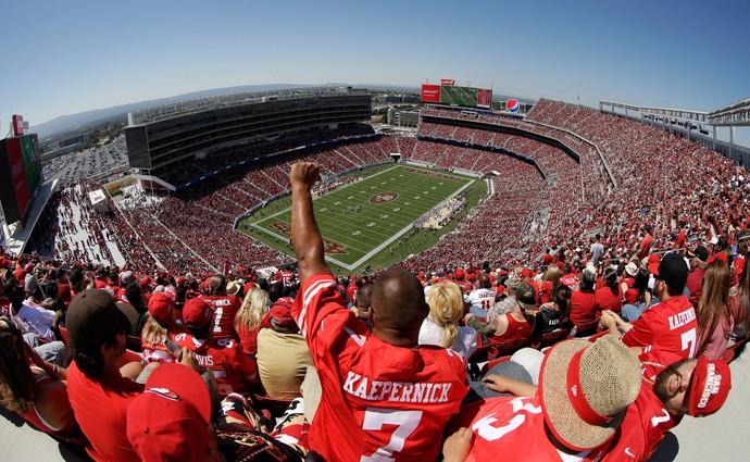 Levi's Stadium San Francisco 49ers NFL (Foto: Ezra Shaw / Getty Images)