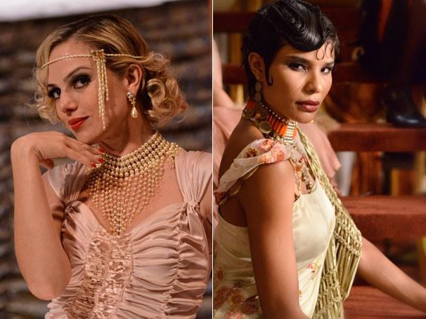 Nathália Rodrigues e Suyane Moreira em Gabriela (Foto: TV Globo / Raphael Dias)