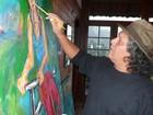 'Essência da Cor' expõe obras do artista Arnaldo Garcez, em Manaus