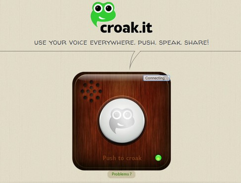 screenshot de Croak.it