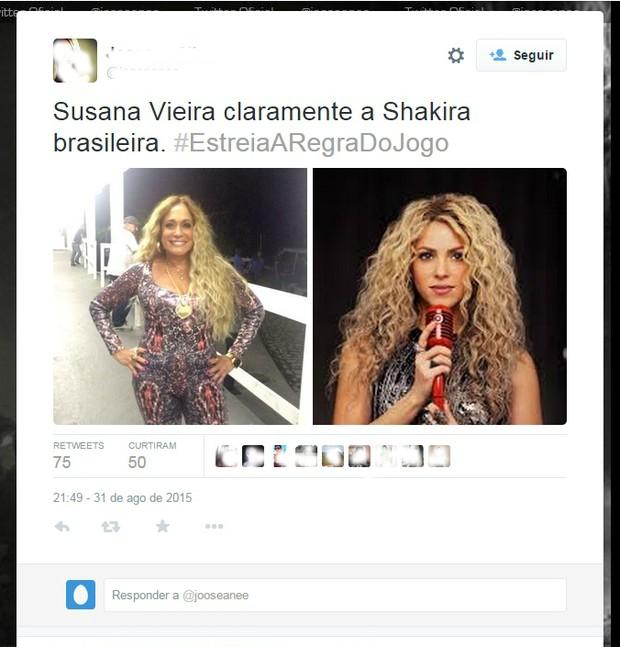 Susana Vieira (Foto: Reprodução/Twitter)