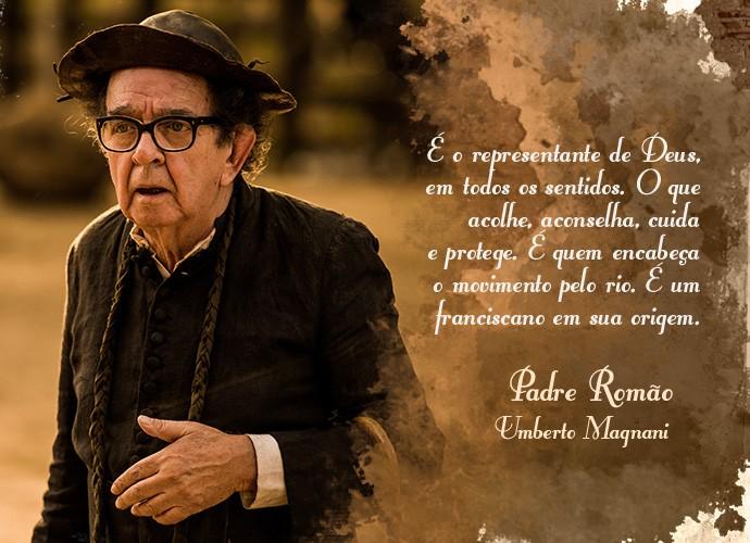 Padre Romão (Foto: Gshow)