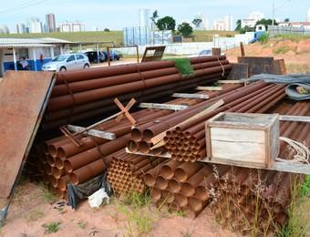 Arena Municipal de São José dos Campos (Foto: Danilo Sardinha/GloboEsporte.com)