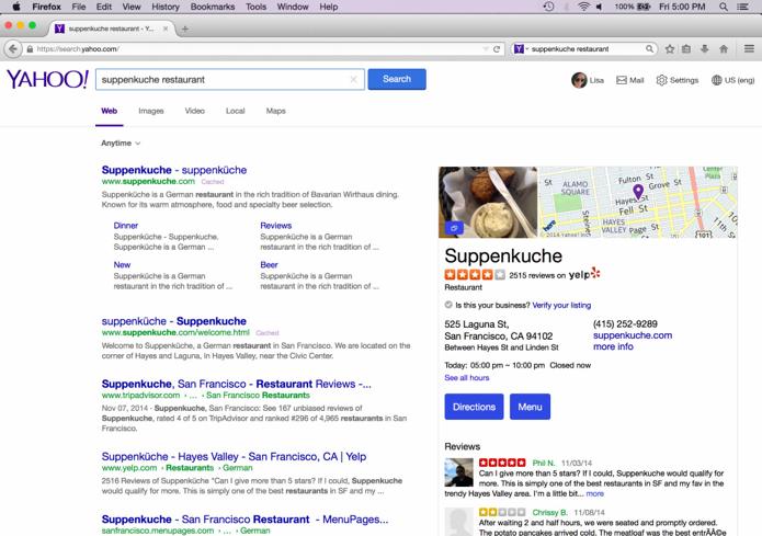 Mozilla vai adotar Yahoo como padrão e estrear novo design para web (Foto: Reprodução/TechCrunch) (Foto: Mozilla vai adotar Yahoo como padrão e estrear novo design para web (Foto: Reprodução/TechCrunch))