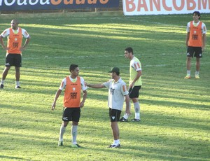 Treino do Am&#233;rica-MG (Foto: Fernando Martins / Globoesporte.com)