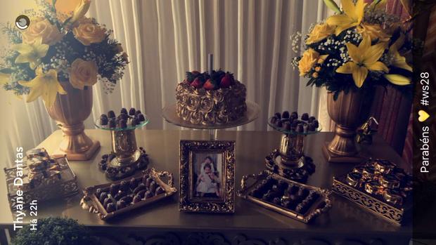 Aniversário de Wesley Safadão (Foto: Reprodução/ Snapchat)