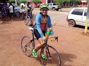 Prova de ciclismo em Guajará reuniu mais de 80 participantes (Foto: Fotos de Cleilson Sales/ TV Guajará)