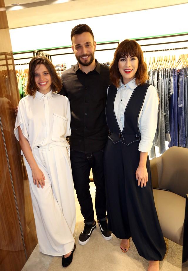 Bruna Linzmeyer, Bruno Delfino e Fernanda Paes Leme (Foto: Darlini e Angelo Santos)