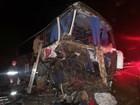 Ônibus que se envolveu em acidente com 5 mortos saiu de Porto Alegre