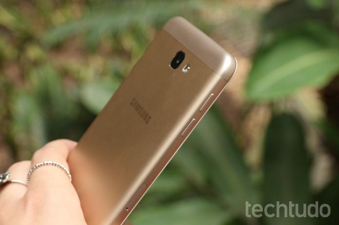 Galaxy J7 Prime [marca 1] (Foto: Aline Batista/TechTudo)