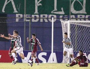 Comemoração Libertad x Fluminense (Foto: photocamera)