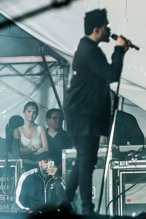 Selena Gomez e The Weeknd (Foto: Manuela Scarpa/Brazil News)