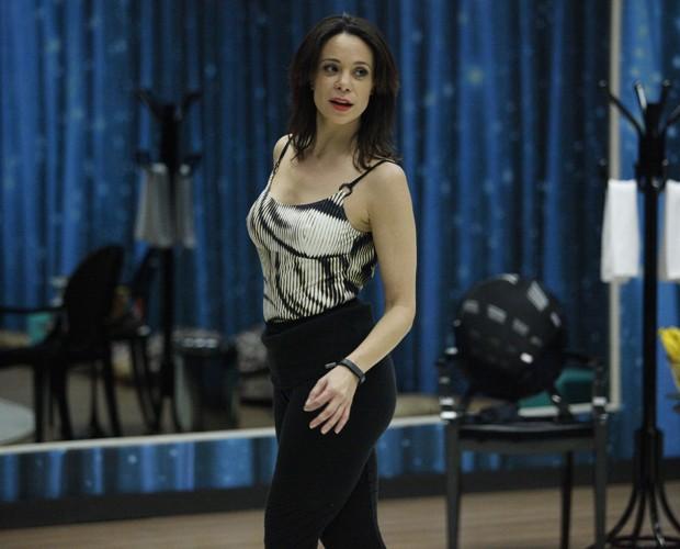 Atriz está sempre linda nos ensaios (Foto: Raphael Dias/ TV Globo)