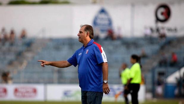 Carlos Octávio técnico do Guaratinguetá (Foto: Comunicação Guaratinguetá Futebol/ Divulgação)