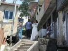 Kim Kardashian, Kanye West e Will Smith visitam favela do Vidigal no Rio