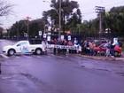 Pacientes protestam pela liberação da 'pílula do câncer' em São Carlos, SP