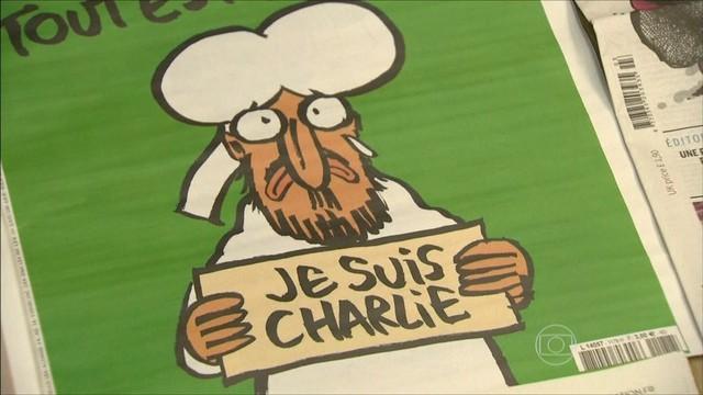 Renato Machado Charlie Hebdo JG (Foto: Divulgação: TV Globo)