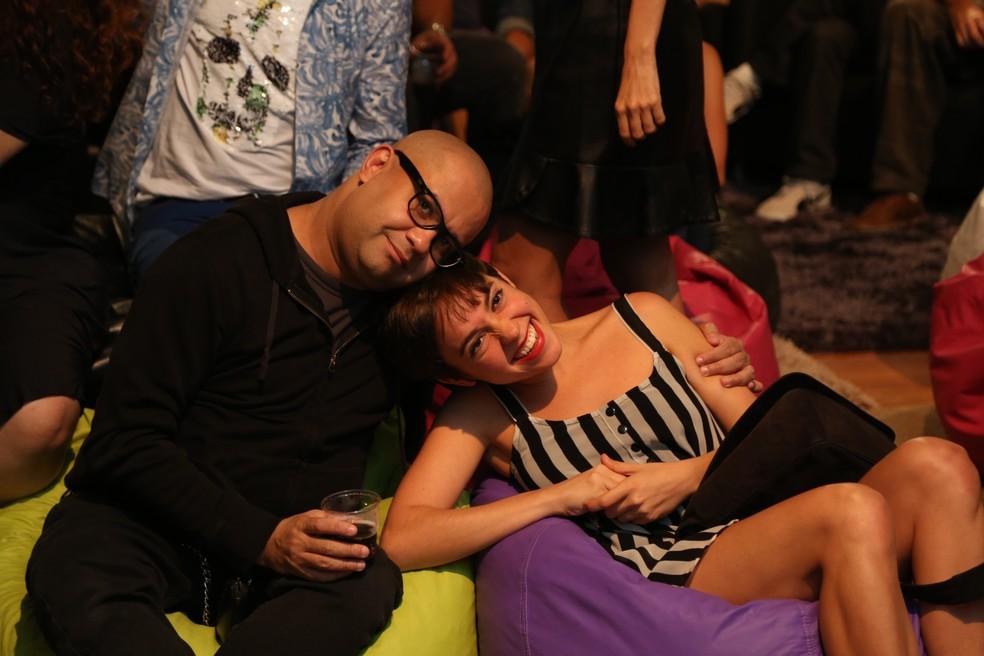 Muito amor nos bastidores ♥ (Foto: Isabella Pinheiro/Gshow)