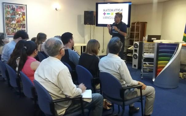 Congresso técnico teve apresentação de Daniel Pasqualin (Foto: Paula Franco/ Rede Vanguarda)