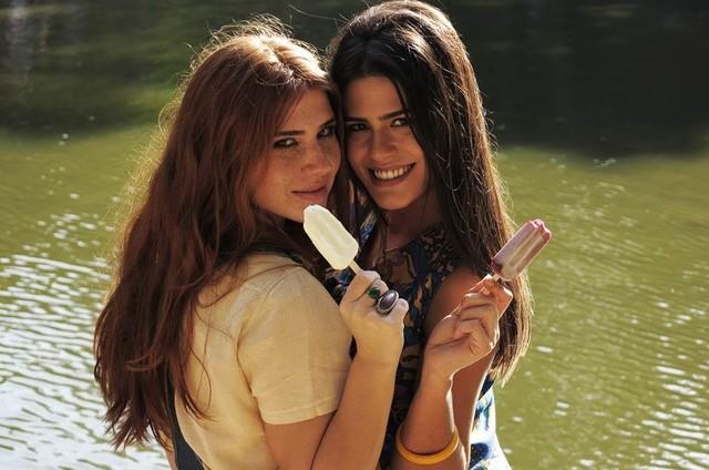 Mariah Rocha e Antonia Morais (Foto: Divulgação/GNT)