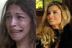 Antes e depois: Grazi em 'Verdade Secretas' como Larissa, e agora como Luciane (Foto: TV Globo / Reinaldo Marques / Globo  )