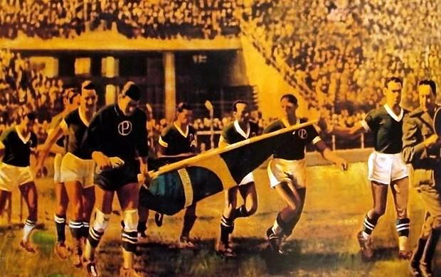 Palmeiras arrancada (Foto: Reprodução/TV Globo)