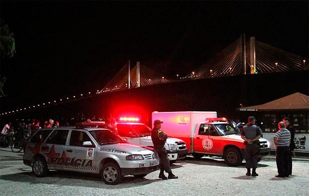 Policiamento para o réveillon atuará em pontos de grande concentração (Foto: Canindé Soares)
