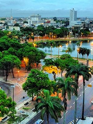 Lagoa deve ser revitalizada e trânsito migrará para outros pontos do Centro (Foto: Juliana Brito/G1)