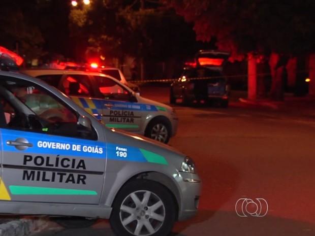 Estudante morre após sair de cursinho no Colégio Protágoras, em Goiânia (Foto: Reprodução/ TV Anhanguera)