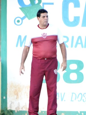 Luiz Eduardo, treinador, CAP Patrocínio, Patrocinense (Foto: Alair Constantino/Dono do Apito)