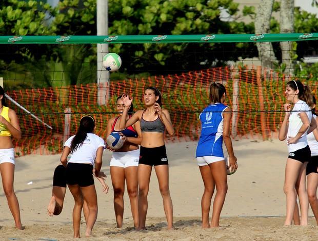 vôlei de praia sasha treino (Foto: Wallace Barbosa / Agnews)