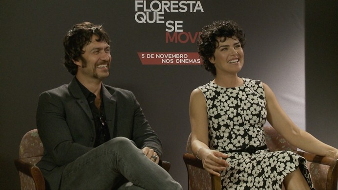 Gabriel e Ana Paula estão de volta em par romântico. (Foto: Produção / Se Liga VM)