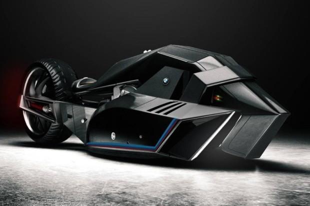 BMW Titan Concept Motorcycle (Foto: Reprodução)