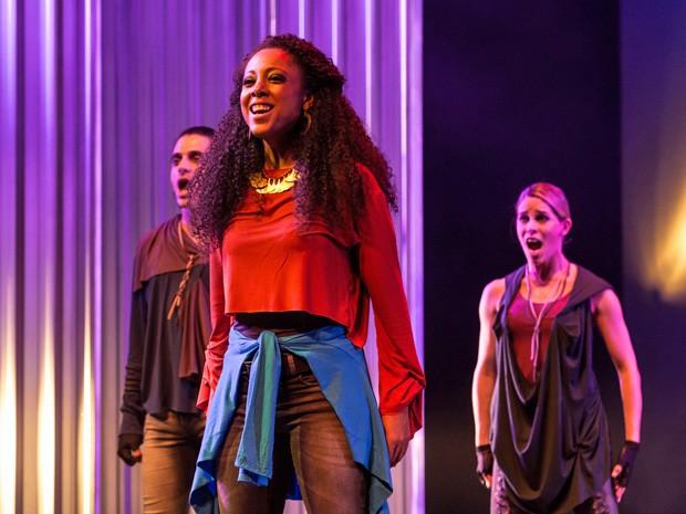 Negra Li vive Maria Madalena no musical 'Jesus Cristo Superstar' (Foto: Divulgação/T4F)