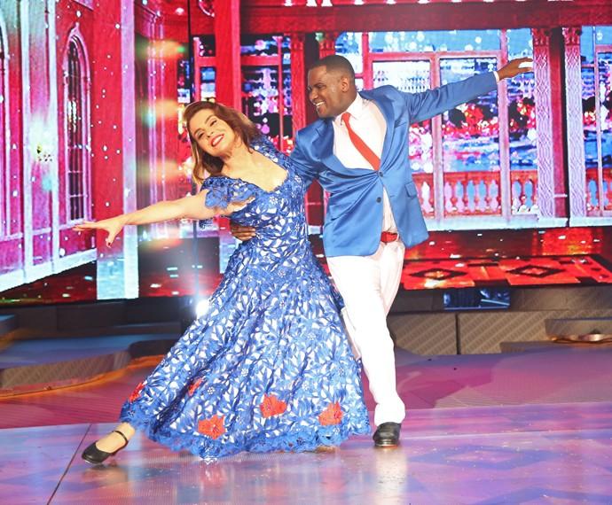Françoise Forton deixa o Dança (Foto: Carol Caminha/Gshow)