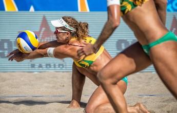 Larissa e Talita superam dupla da Espanha e vão às quartas do Finals