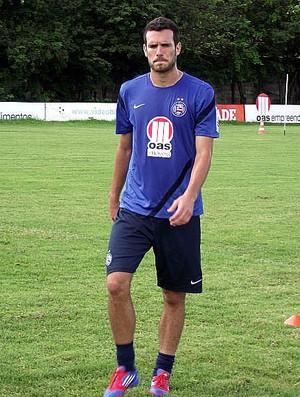 Lucas Fonseca em treino do Bahia (Foto: Divulgação/EC Bahia)