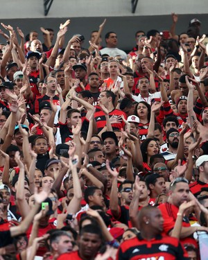 Flamengo x Sport maracanã - torcedores (Foto: André Durão)