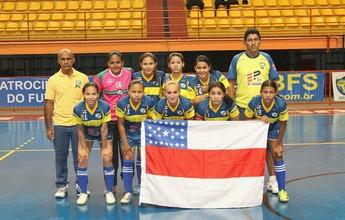 Ninho de Águias representará o AM  no Brasileiro de Futsal Feminino