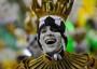 Imperatriz leva à avenida tributo a Zico (Alexandre Durão/G1)