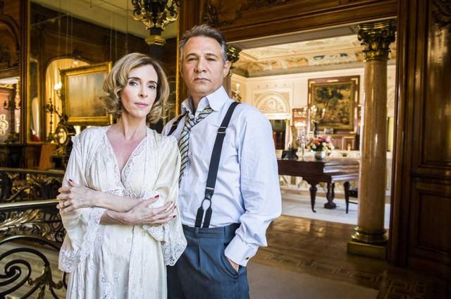 Deborah Evelyn e Nelson Freitas gravaram 'Tempo de amar' (Foto: Globo/ João Miguel Junior)