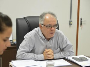 Ricardo de Oliveira, secretário de Estado da Saúde, no Espírito Santo  (Foto: Nestor Müller - Secom-ES)