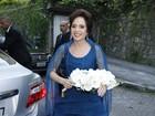 Famosos vão ao casamento de Daniel Filho com Olívia Byington