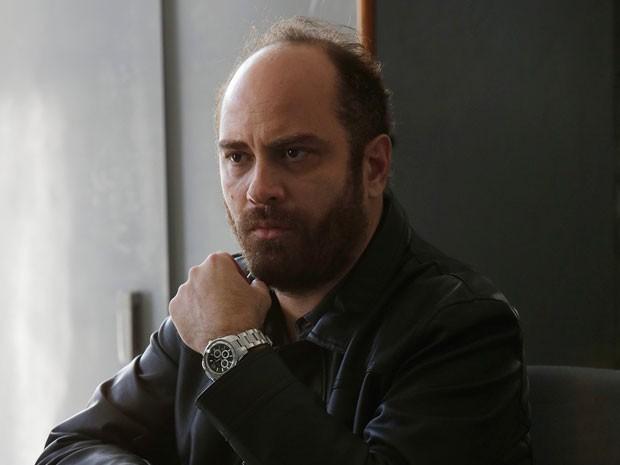 Tiefenthaler fala sobre trabalhos no cinema e nas artes plásticas (Foto: Fábio Rocha/TV Globo)